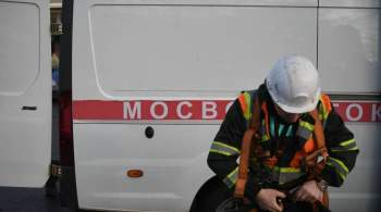 Более 300 бригад  Мосводостока  дежурят на улицах Москвы в непогоду