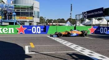 Макларен  сделал победный дубль на Гран-при Италии