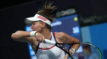 Кудерметова и Рыбакина вышли в полуфинал турнира в Индиан-Уэллсе в парах