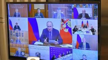 Путин призвал обеспечить преемственность после выборов в Госдуму