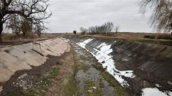 Аксенов заявил, что ситуация с водой в Крыму  хуже, чем сегодня не будет