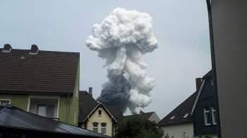 При взрыве на заводе в Германии погиб человек, пишут СМИ