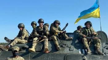 Украина перебросила войска к российской границе