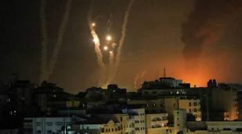 Военное крыло ХАМАС запустило 50 ракет по израильским городам