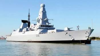 Британский эсминец Defender вошел в порт Батуми