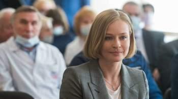 Актрису Пересильд начали обучать управлению космическим кораблем  Союз