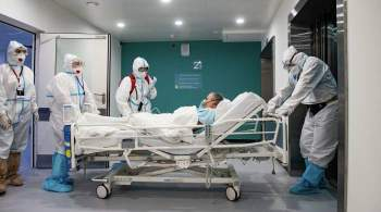 В Москве за сутки госпитализировали более 550 человек с COVID-19