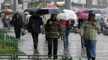 Ученые МЧС предупредили об опасных дождях в нескольких регионах