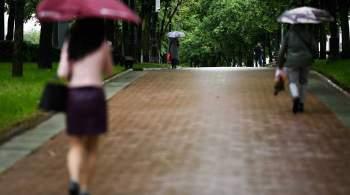 Синоптик предупредил о  глубокой осени  в начале сентября в Москве