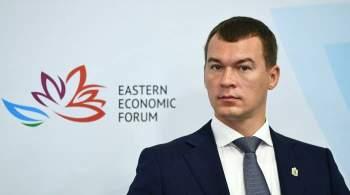 Дегтярев лидирует на выборах главы Хабаровского края