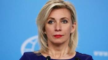 Захарова заявила о  политическом компоненте  в инциденте с Defender