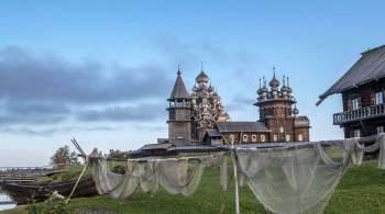 Любимова открыла церковь Преображения Господня в Кижах после реставрации