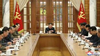 Ким Чен Ын обсудил с руководством партии вопросы экономики