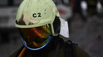 В промзоне на северо-востоке Москвы загорелись грузовики