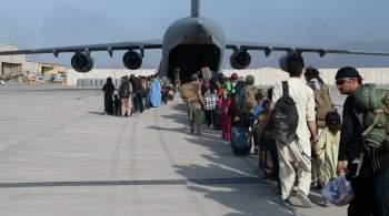 В США рассказали о попытке захвата самолета в ходе эвакуации из Кабула