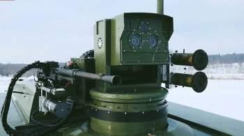 Появилось видео автоматической стрельбы российского робота по мишеням