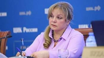 Памфилова рассказала о  карантине  для некоторых бюллетеней на выборах