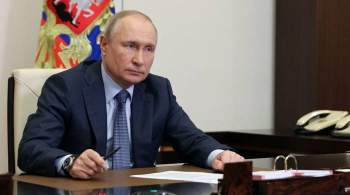 Путин назвал НАТО рудиментом холодной войны