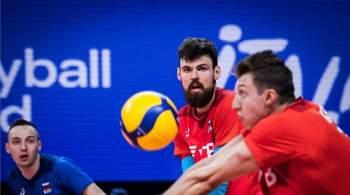 Волейболисты сборной России одержали пятую победу в Лиге наций