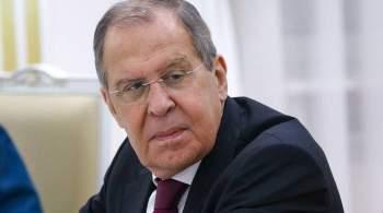 Россия готова восстановить отношения с Грузией, заявил Лавров