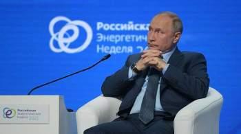 Путин рассказал о работе российской оппозиции