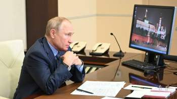 Путин поручил усилить группировку Минобороны для борьбы с пожарами